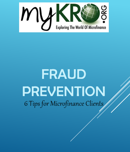 fraud prevention, microfinance fraud, client protection in microfinance